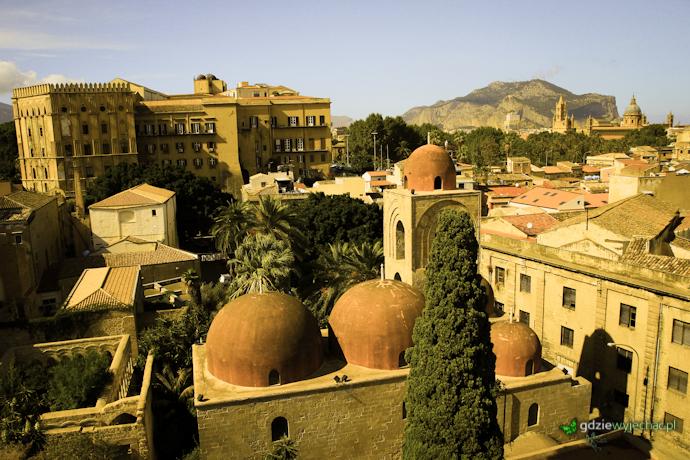 Palermo panorama widok