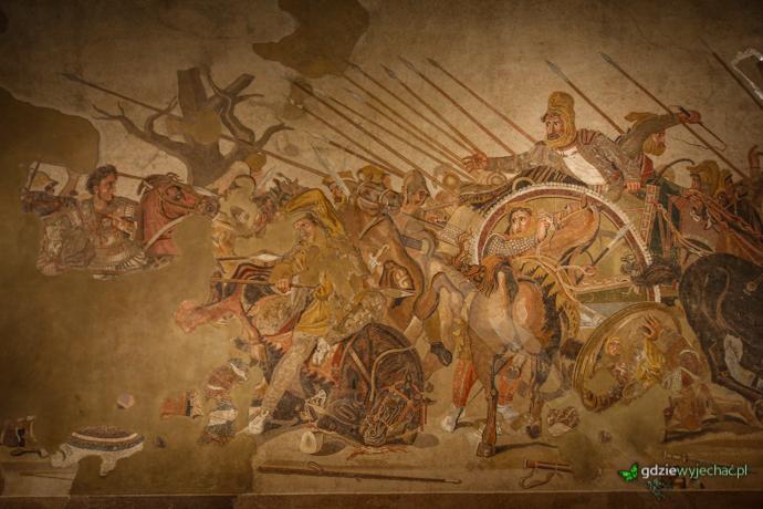 bitwa aleksandra z dariuszem mozaika
