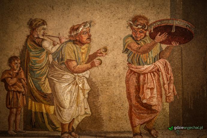 mozaiki pompeje neapol