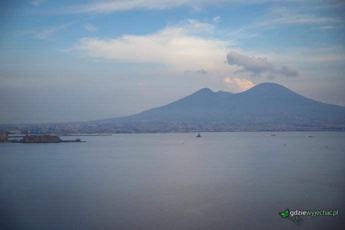 WEzuwiusz wulkan widok