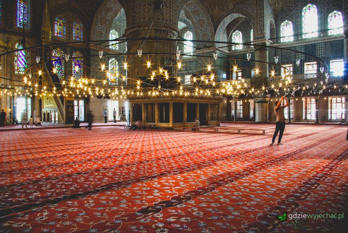 błekitny meczet w stambule