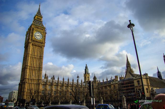 londyn big ben parlament