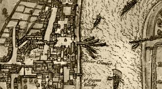 westminster mapa londyn stara