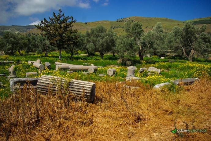 Kreta Gortyna ruiny