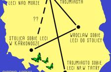 Krajówki Ryanaira za 78 zł w dwie strony. Nowe loty z Krakowa do Gdańska