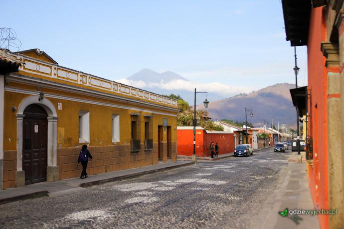 antigua guatemala wulkan