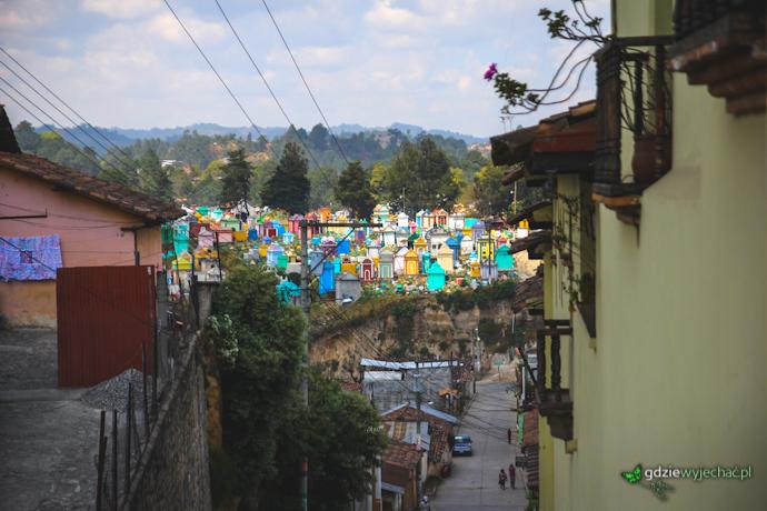 guatemala chichi cmentarz