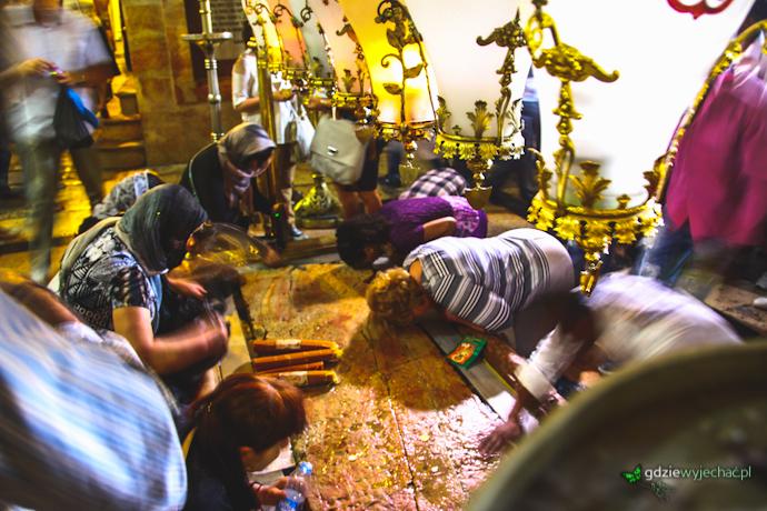 kamień namaszczenia jerozolima