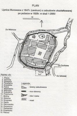 lipnica murowana mapa