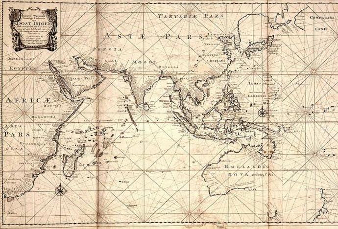 mapa swiata holenderska
