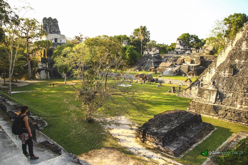 Guatemala Tikal mayan ruins