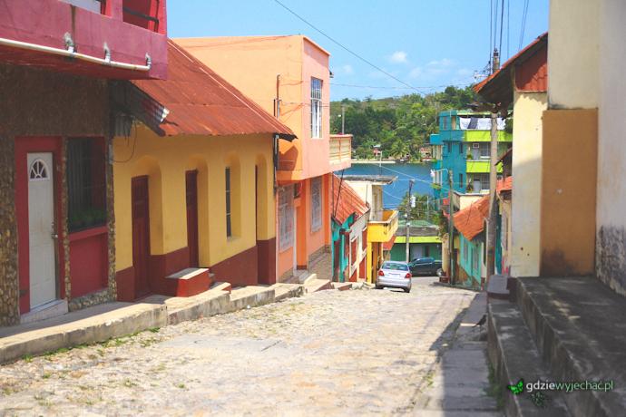 Gwatemala flores tikal wyspa