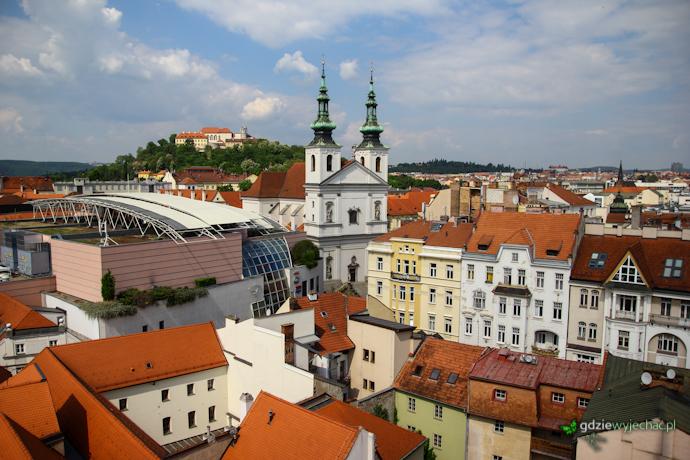 Brno panorama widok