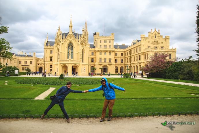 MOrawy pałac w Lednice