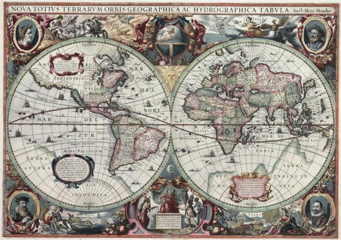 mapa hondiusa
