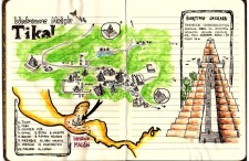 Ruiny Tikal, Piramida Jaguara, inne miasta Majów