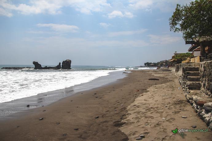 EL Tunco wybrzeże Salwador