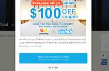Nowy sposób na zniżkę 100$ w Airbnb