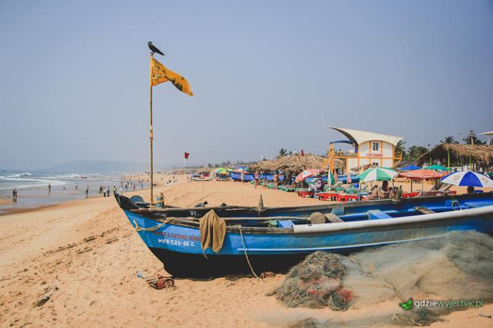 Goa Calangute beach plaża