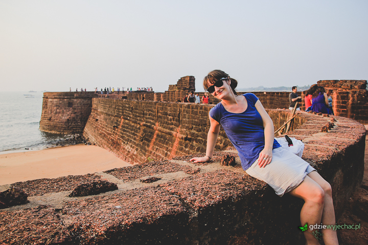 Goa portugese fort