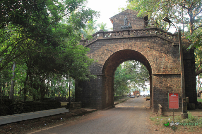 Old Goa łuk