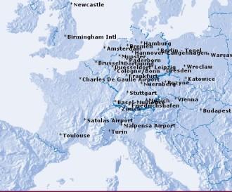 eurowings mapa polaczen