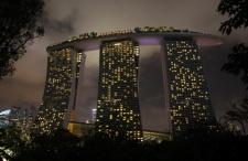 Są takie miasta… Po prostu wieczorny Singapur