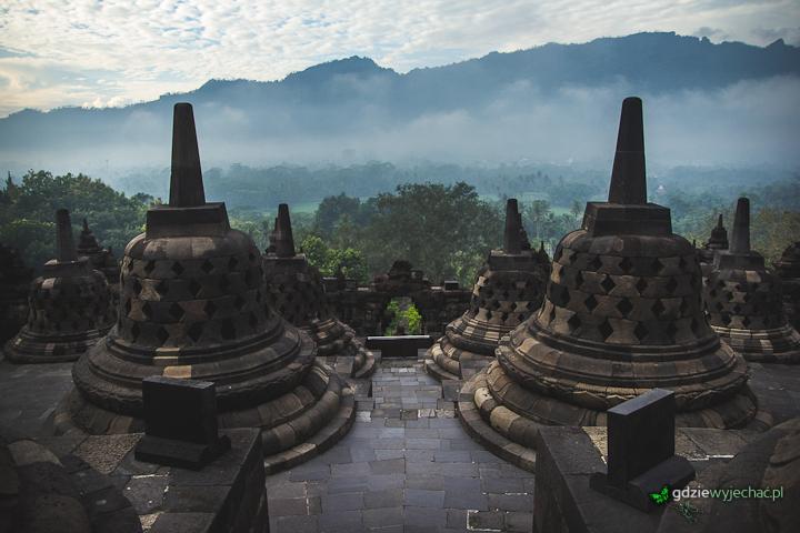 borobudur indonezja jawa