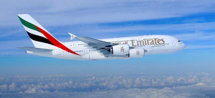 emirates a380 samolot