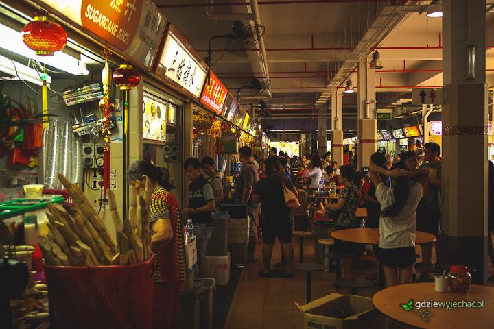 singapur hawker centre jedzenie
