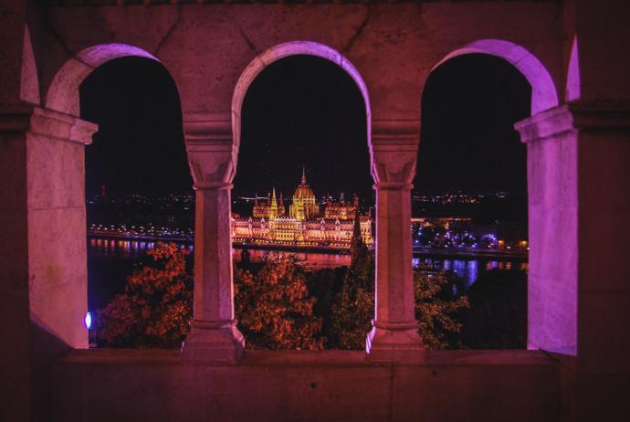 Budapeszt z okolic Baszt Rybackich