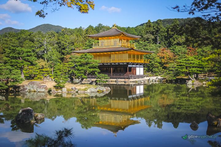 Złoty Pawilon w Kioto Japonia