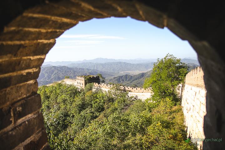 chiny wielki mur straznica