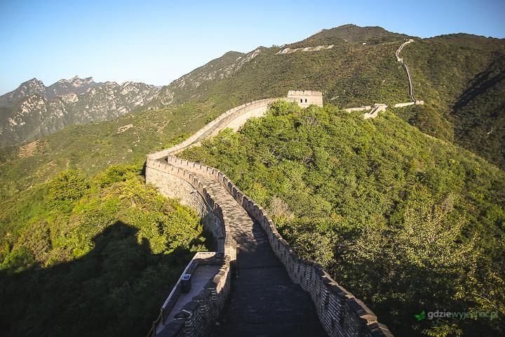 wielki mur chinski chiny jesien