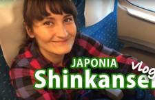 Szybkim pociągiem Shinkansen z Kioto do Tokio. Vlog