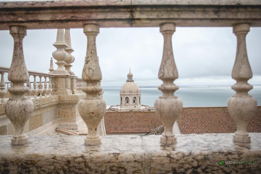 Panteon widziany z dachu Św. Wincentego