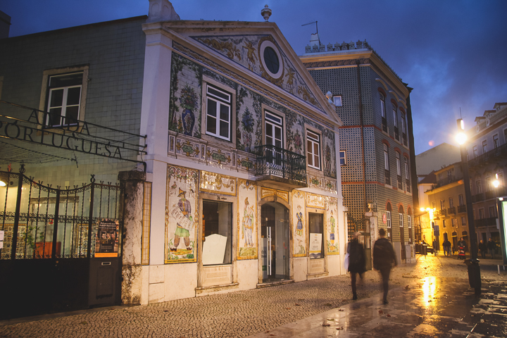 Mouraria Lizbona