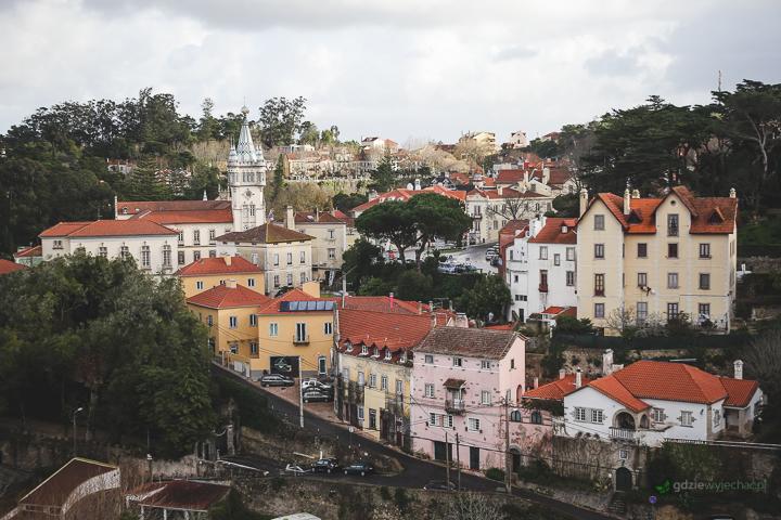 Portugalia Sintra widok