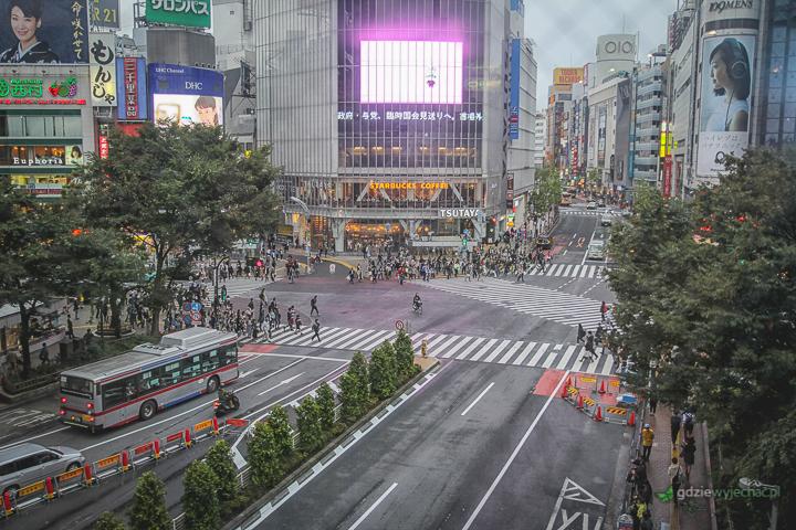 Tokio skrzyzowanie