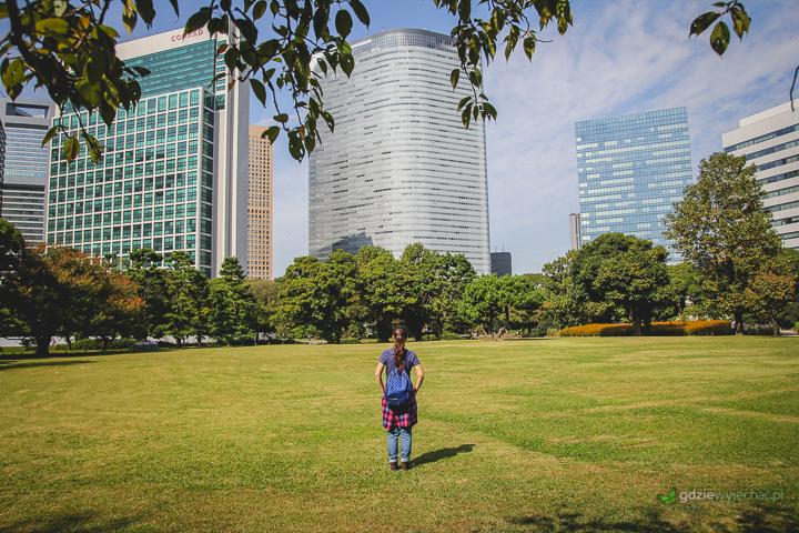 Ogrody Hamarikyu - pozytywne zaskoczenie z miejsc, których nie planowaliśmy wcześniej