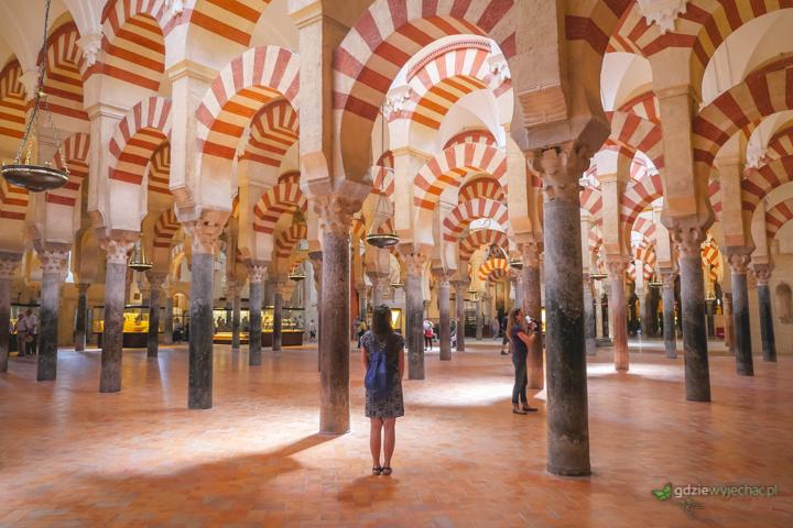 Kordoba katedra dawny meczet