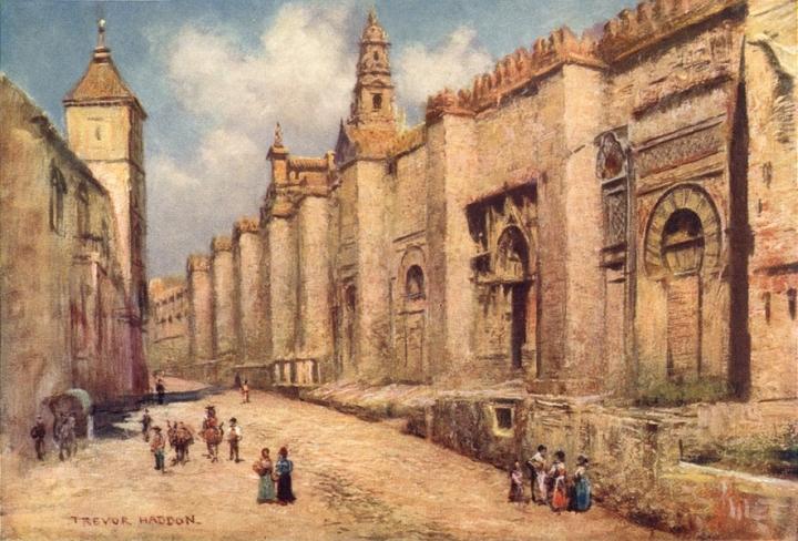 meczetkordoba stary obraz