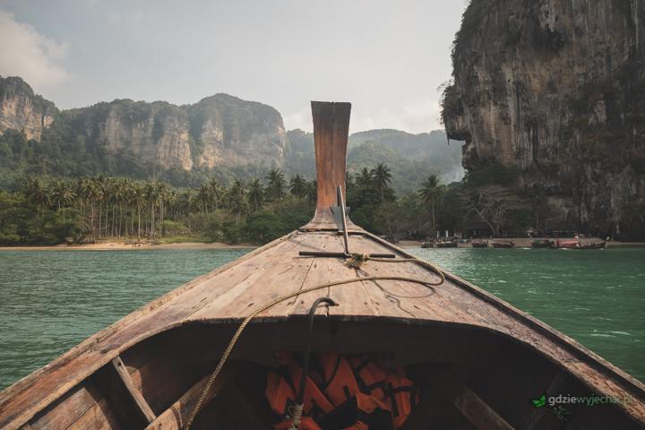 Krabi Tajlandia long boat