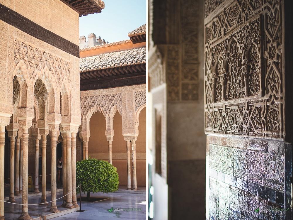 alhambra zdobienia