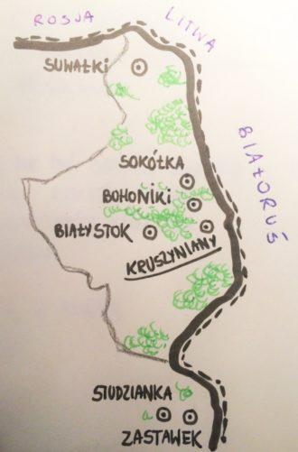 tatarzy w polsce mapa