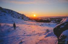 Bajkowa zima na Jurze Krakowsko-Częstochowskiej. Surowo, ale pięknie