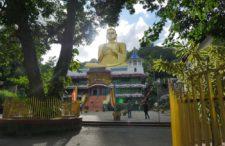 Pierwszy dzień po przylocie na Sri Lankę. Negombo i Dambula