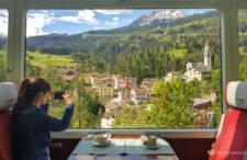 Niesamowita podróż z bajkowymi widokami na Alpy. Nasza trasa szwajcarskimi kolejami