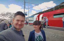 Niesamowite widoki z okna! Kolejowa podróż po Szwajcarii [VLOG]