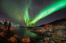 Zorza, lód, światło, woda. Kolory według norweskiej Arktyki